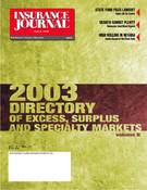 Insurance Journal West June 9, 2003
