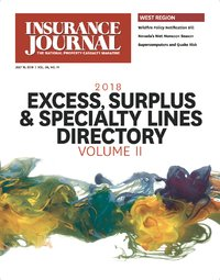 Data & Analytics; Directory: Excess, Surplus & Specialty Markets, Volume II