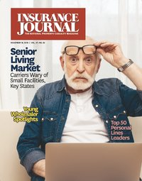 Top Personal Lines Retail Agencies; Young Wholesale Brokers; Markets: Assisted Living / Long Term Care; Special Supplement: The Florida Issue