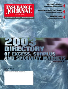 Insurance Journal South Central January 27, 2003