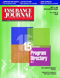 Insurance Journal South Central May 22, 2006