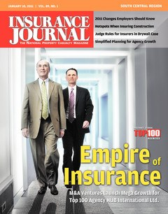 Insurance Journal South Central January 10, 2011