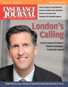 Insurance Journal South Central July 18, 2011