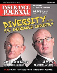 Insurance Journal East August 15, 2011