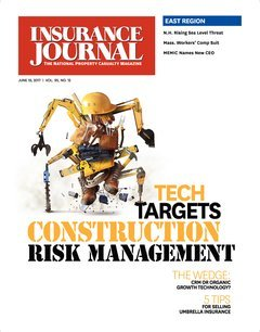 Insurance Journal East June 19, 2017