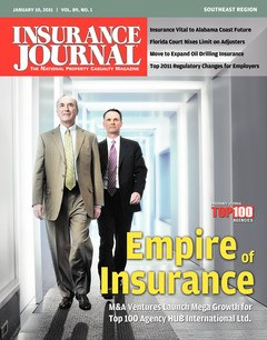 Insurance Journal Southeast January 10, 2011