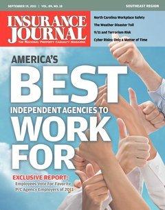 Insurance Journal Southeast September 19, 2011