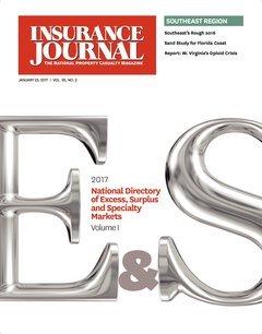Insurance Journal Southeast January 23, 2017