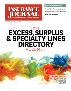 Insurance Journal Southeast January 22, 2018