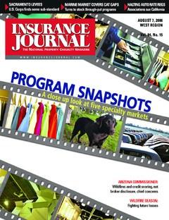 Insurance Journal West August 7, 2006
