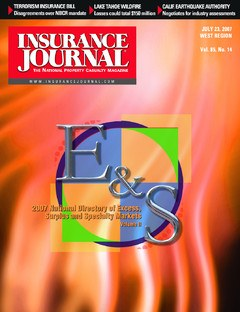 Insurance Journal West July 23, 2007