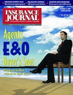 Insurance Journal West August 6, 2007