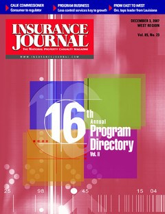 Insurance Journal West December 3, 2007