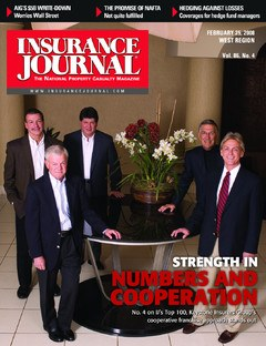 Insurance Journal West February 25, 2008
