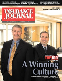 Insurance Journal West September 1, 2008