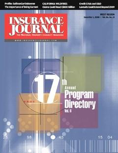 Insurance Journal West December 1, 2008