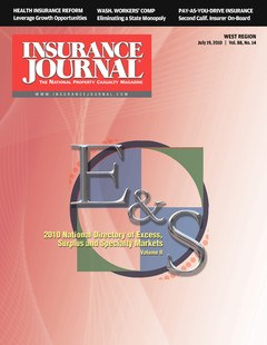 Insurance Journal West July 19, 2010