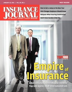 Insurance Journal West January 10, 2011