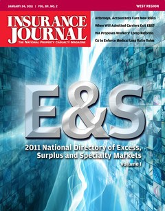 Excess, Surplus & Specialty Markets Directory Vol. I