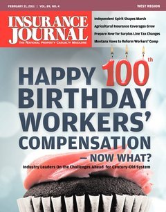 Insurance Journal West February 21, 2011