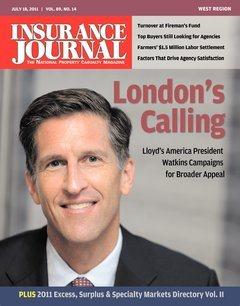 Insurance Journal West July 18, 2011