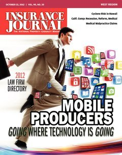Insurance Journal West October 22, 2012