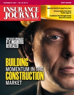 Insurance Journal West November 19, 2012
