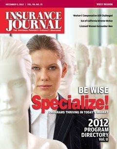 Insurance Journal West December 3, 2012