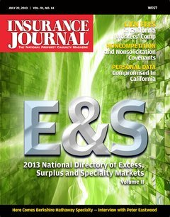 Insurance Journal West July 22, 2013
