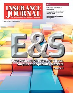 Excess, Surplus & Specialty Markets Directory, Volume II; Bonus: The Florida Issue (Special Supplement)