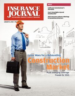Insurance Journal West January 12, 2015
