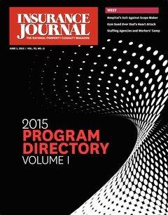 Insurance Journal West June 1, 2015