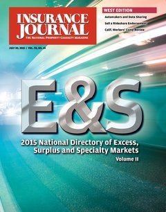 Insurance Journal West July 20, 2015