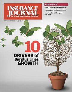 Insurance Journal West September 7, 2015