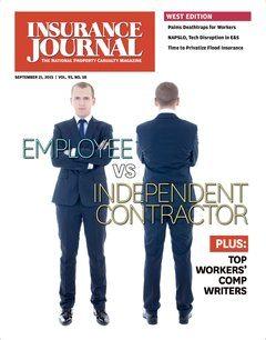 Insurance Journal West September 21, 2015