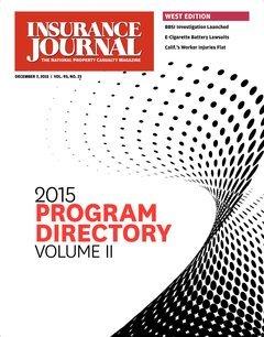 Insurance Journal West December 7, 2015